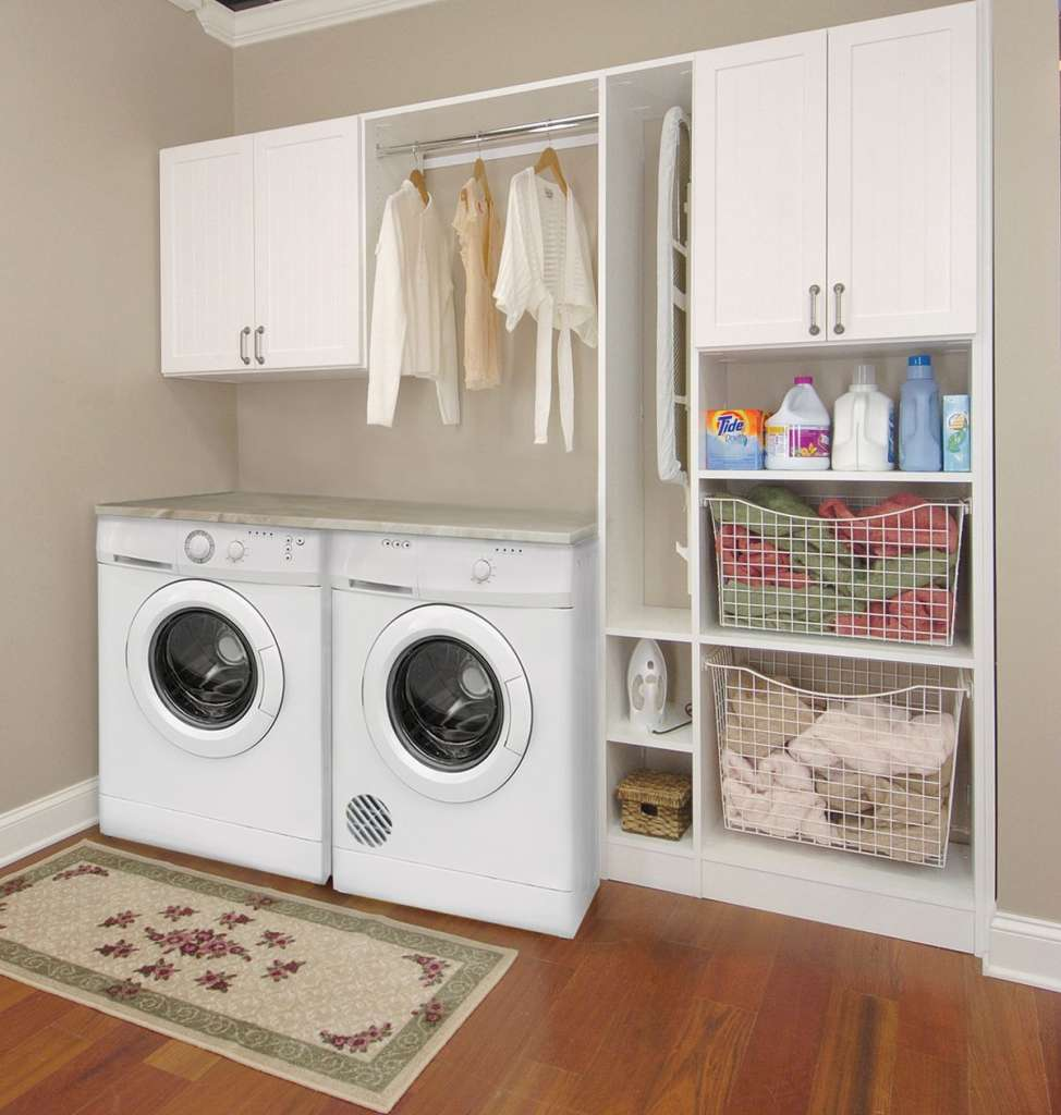Laundry room closet concepts for Cost to build a mudroom