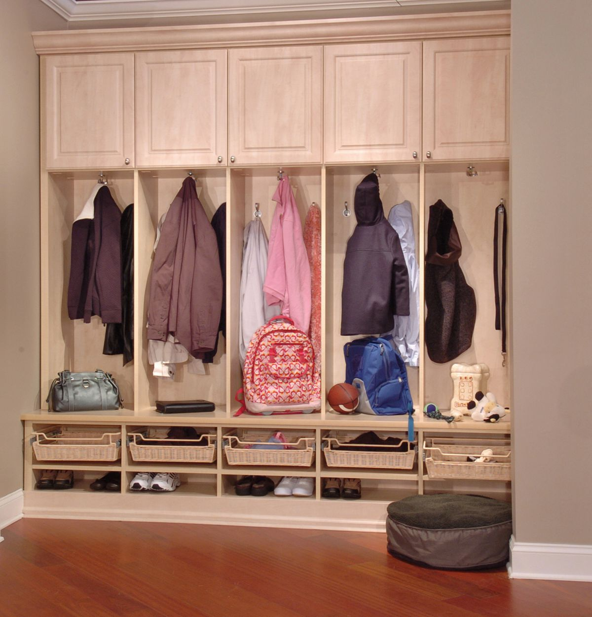 Optimizing Storage In Your Mud Room
