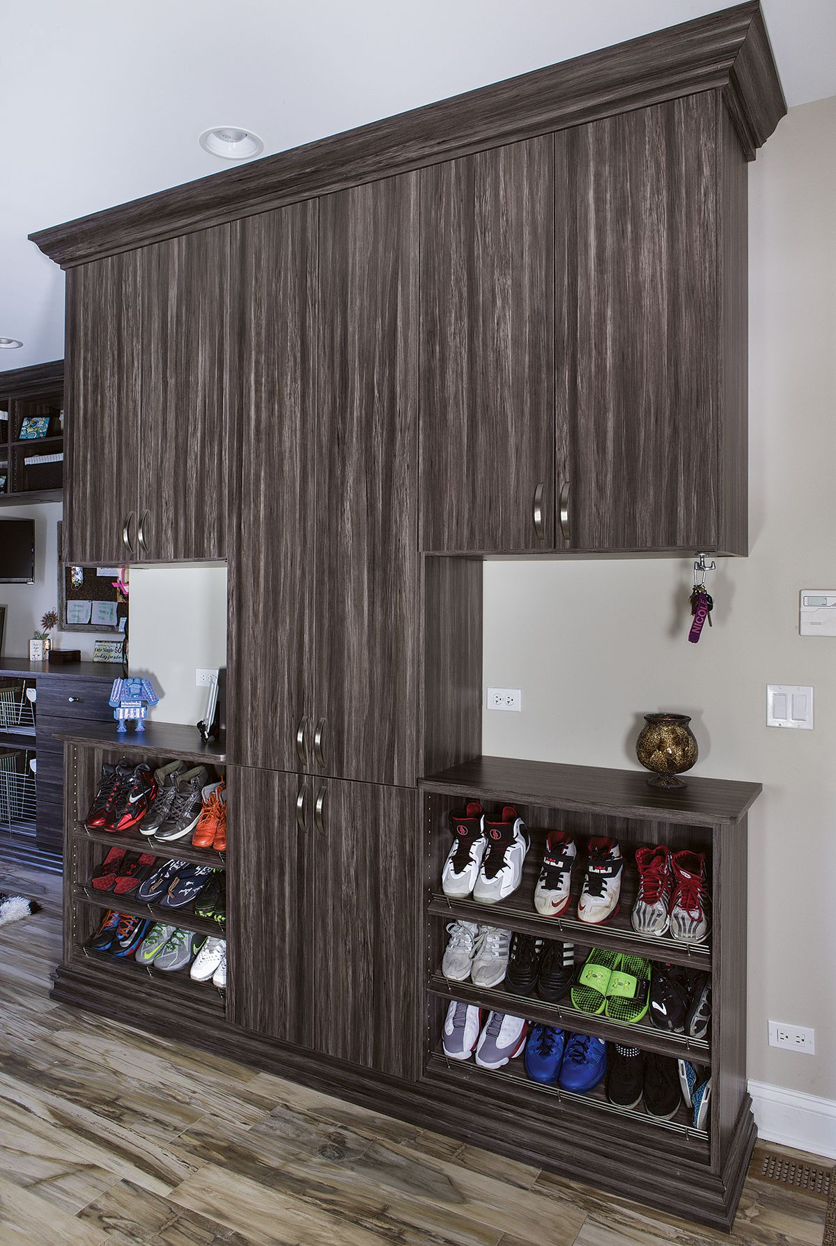 Shoe Storage and Cabinets with Doors