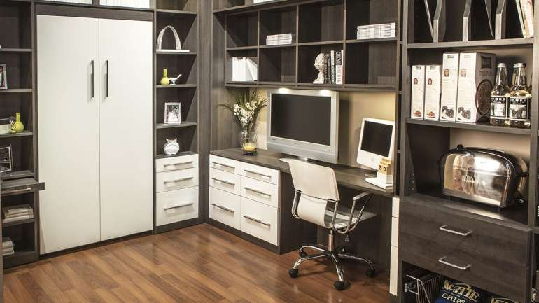 Wall Bed & Home Office
