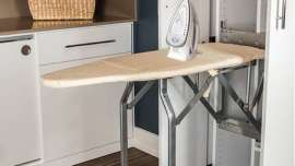 Fold out ironing board
