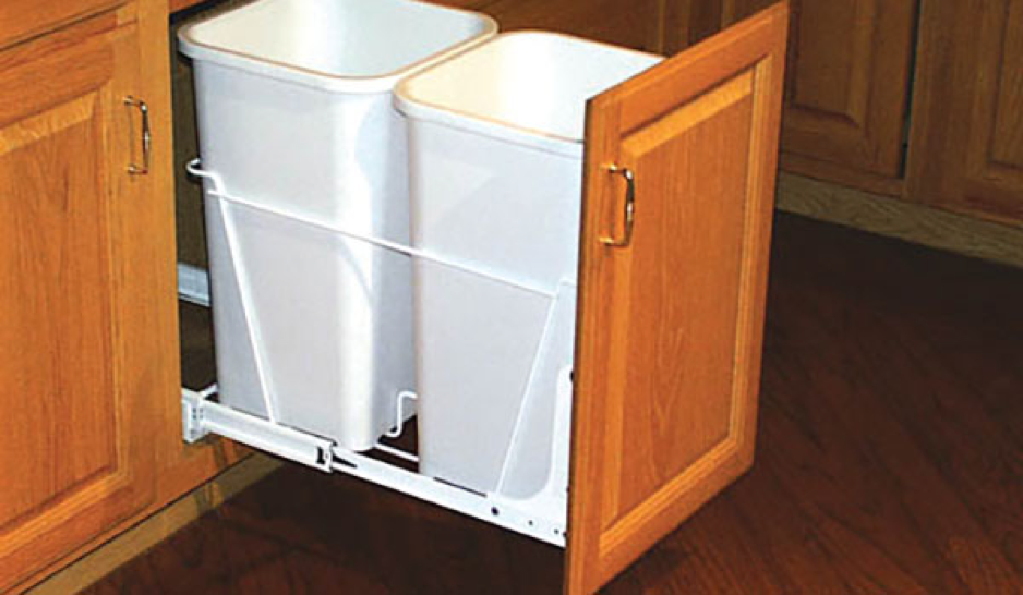 Hiding Your Unsightly Trash Can