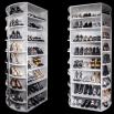 360 Degrees Of Shoe Organizing Heaven!