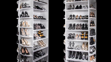 360 Degrees Of Shoe Organizing Heaven!