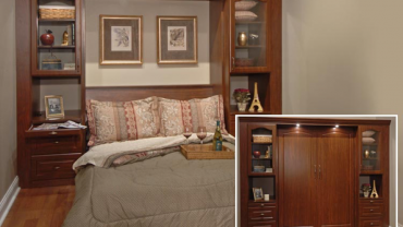 You Haven't Seen A Murphy Bed Like This!